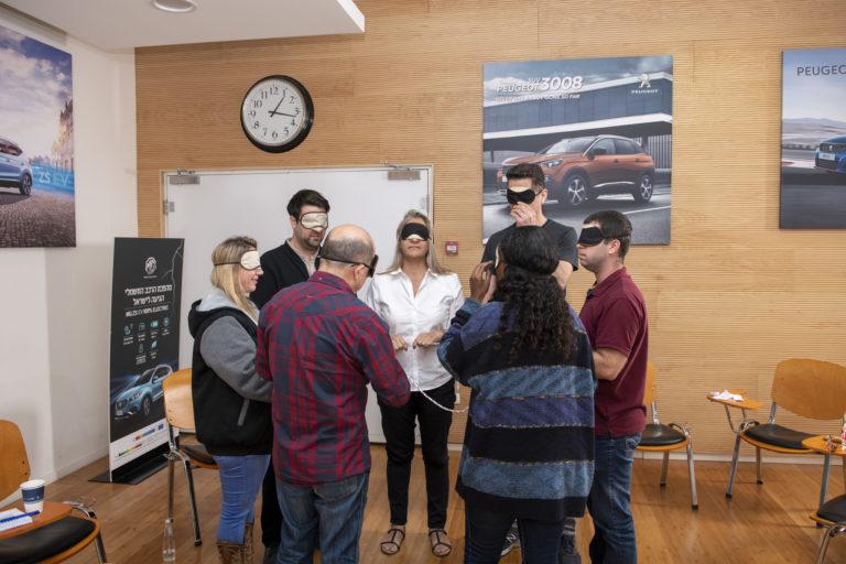 סדנאות והרצאות, פעילות גיבוש צוות